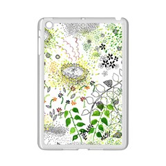 Flower Flowar Sunflower Rose Leaf Green Yellow Picture Ipad Mini 2 Enamel Coated Cases