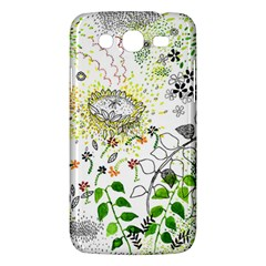 Flower Flowar Sunflower Rose Leaf Green Yellow Picture Samsung Galaxy Mega 5 8 I9152 Hardshell Case  by Alisyart
