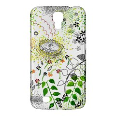 Flower Flowar Sunflower Rose Leaf Green Yellow Picture Samsung Galaxy Mega 6 3  I9200 Hardshell Case by Alisyart