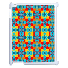 Pop Art Abstract Design Pattern Apple Ipad 2 Case (white) by Amaryn4rt