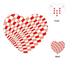 Graphics Pattern Design Abstract Playing Cards (heart)