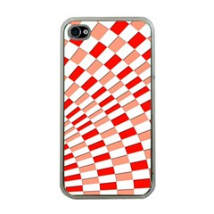 Graphics Pattern Design Abstract Apple Iphone 4 Case (clear)