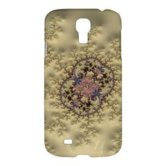Fractal Art Colorful Pattern Samsung Galaxy S4 I9500/i9505 Hardshell Case by Amaryn4rt