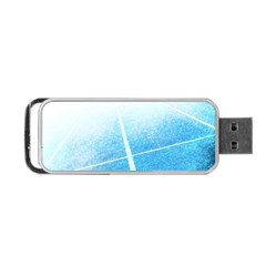Court Sport Blue Red White Portable Usb Flash (two Sides) by Amaryn4rt