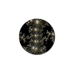 Fractal Math Geometry Backdrop Golf Ball Marker (4 Pack) by Amaryn4rt