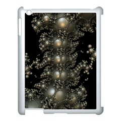 Fractal Math Geometry Backdrop Apple Ipad 3/4 Case (white)