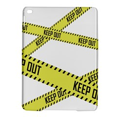 Keep Out Police Line Yellow Cross Entry Ipad Air 2 Hardshell Cases by Alisyart