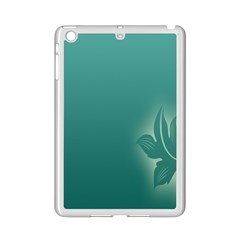 Leaf Green Blue Branch  Texture Thread Ipad Mini 2 Enamel Coated Cases