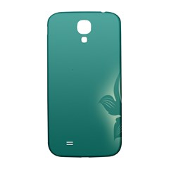 Leaf Green Blue Branch  Texture Thread Samsung Galaxy S4 I9500/i9505  Hardshell Back Case