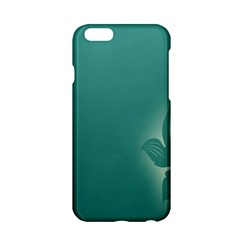 Leaf Green Blue Branch  Texture Thread Apple Iphone 6/6s Hardshell Case