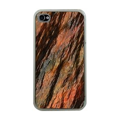 Texture Stone Rock Earth Apple Iphone 4 Case (clear)