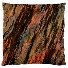 Texture Stone Rock Earth Large Cushion Case (two Sides) by Amaryn4rt