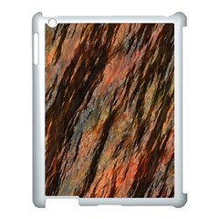 Texture Stone Rock Earth Apple Ipad 3/4 Case (white) by Amaryn4rt