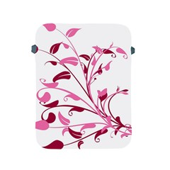 Leaf Pink Floral Apple Ipad 2/3/4 Protective Soft Cases by Alisyart