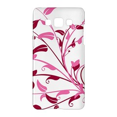 Leaf Pink Floral Samsung Galaxy A5 Hardshell Case