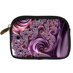 Purple Abstract Art Fractal Art Fractal Digital Camera Cases by Amaryn4rt