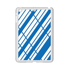 Line Blue Chevron Ipad Mini 2 Enamel Coated Cases