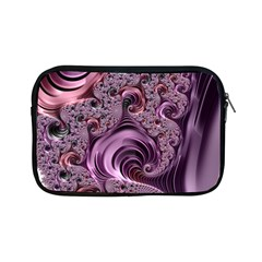 Purple Abstract Art Fractal Art Fractal Apple Ipad Mini Zipper Cases by Amaryn4rt