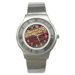 Line Dancing Gpld Net Stainless Steel Watch