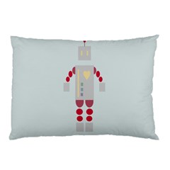 Machine Engine Robot Pillow Case (two Sides)