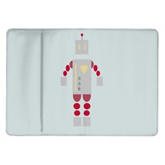 Machine Engine Robot Samsung Galaxy Tab 10 1  P7500 Flip Case