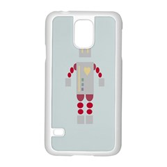 Machine Engine Robot Samsung Galaxy S5 Case (white)
