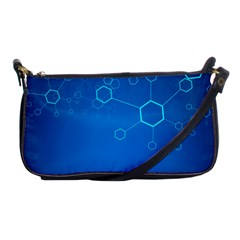 Molecules Classic Medicine Medical Terms Comprehensive Study Medical Blue Shoulder Clutch Bags