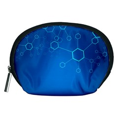 Molecules Classic Medicine Medical Terms Comprehensive Study Medical Blue Accessory Pouches (medium)