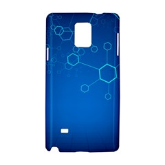 Molecules Classic Medicine Medical Terms Comprehensive Study Medical Blue Samsung Galaxy Note 4 Hardshell Case