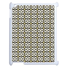 Flower Floral Chevrpn Wave Sunflower Rose Grey Yellow Apple Ipad 2 Case (white) by Alisyart