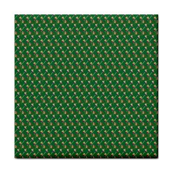 Candy Green Sugar Tile Coasters