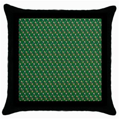 Candy Green Sugar Throw Pillow Case (black) by Alisyart