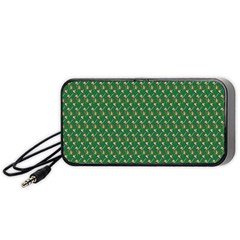 Candy Green Sugar Portable Speaker (black)
