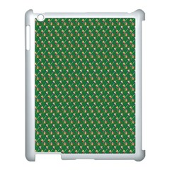 Candy Green Sugar Apple Ipad 3/4 Case (white)