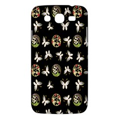 Butterfly Floral Flower Green White Samsung Galaxy Mega 5 8 I9152 Hardshell Case  by Alisyart