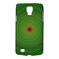 Green Fractal Simple Wire String Galaxy S4 Active by Amaryn4rt