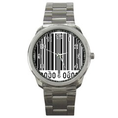 Code Data Digital Register Sport Metal Watch by Amaryn4rt
