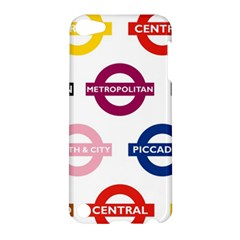 Underground Signs Tube Signs Apple Ipod Touch 5 Hardshell Case by Amaryn4rt