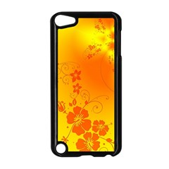 Flowers Floral Design Flora Yellow Apple Ipod Touch 5 Case (black) by Amaryn4rt