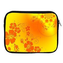 Flowers Floral Design Flora Yellow Apple Ipad 2/3/4 Zipper Cases by Amaryn4rt