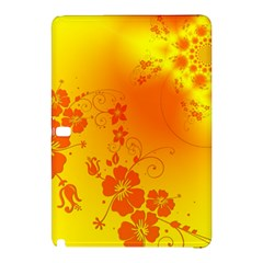 Flowers Floral Design Flora Yellow Samsung Galaxy Tab Pro 12 2 Hardshell Case by Amaryn4rt