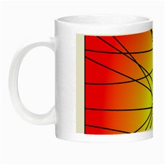 Spirituality Man Origin Lines Night Luminous Mugs by Amaryn4rt