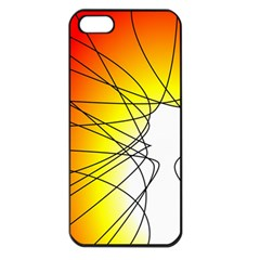 Spirituality Man Origin Lines Apple Iphone 5 Seamless Case (black) by Amaryn4rt