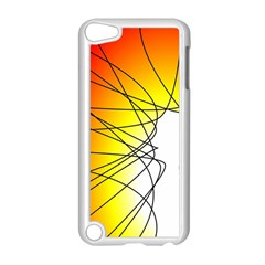 Spirituality Man Origin Lines Apple Ipod Touch 5 Case (white) by Amaryn4rt