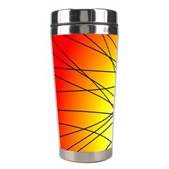 Spirituality Man Origin Lines Stainless Steel Travel Tumblers by Amaryn4rt