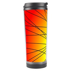 Spirituality Man Origin Lines Travel Tumbler by Amaryn4rt