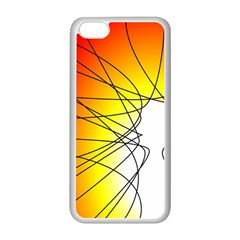Spirituality Man Origin Lines Apple Iphone 5c Seamless Case (white) by Amaryn4rt