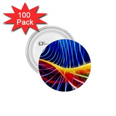 Color Colorful Wave Abstract 1 75  Buttons (100 Pack)
