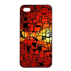 Board Conductors Circuits Apple Iphone 4/4s Seamless Case (black) by Amaryn4rt