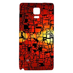 Board Conductors Circuits Galaxy Note 4 Back Case by Amaryn4rt